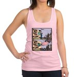 Save the Planet or ELSE! Racerback Tank Top