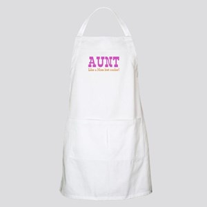 Aunt Like a Mom but Cooler Apron