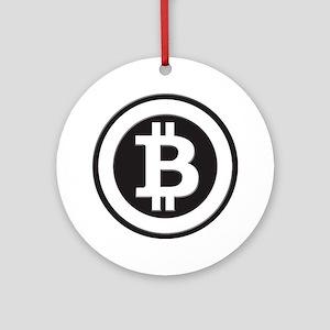 Bitcoin Ornament (Round)