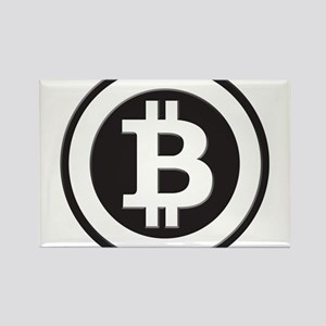 Bitcoin Rectangle Magnet