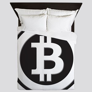 Bitcoin Queen Duvet