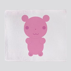 Gummi Bear - Pink Throw Blanket