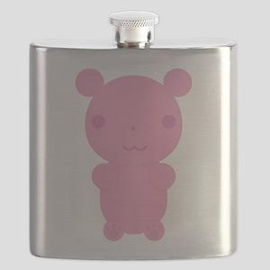 Gummi Bear - Pink Flask