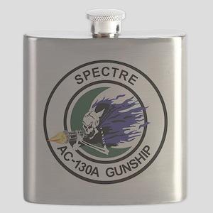 AC-130A Spectre Flask