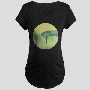 Whimsical Forest Maternity T-Shirt
