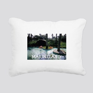 Marineland Florida Rectangular Canvas Pillow