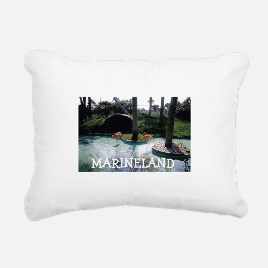 Marineland Florida Rectangular Canvas Pillow