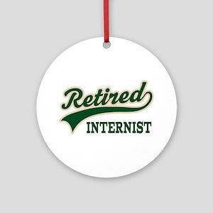 Retired Internist Ornament (Round)
