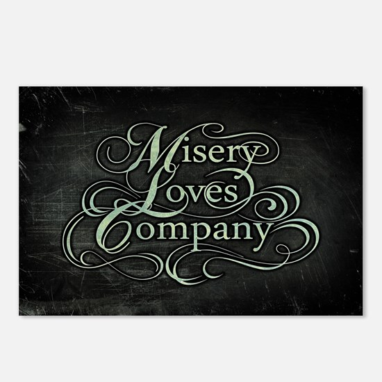 Misery Loves Company Postcards (Package of 8)