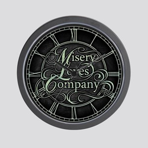 Misery Loves Company Wall Clock