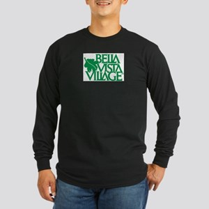 Bella Vista Long Sleeve Dark T-Shirt