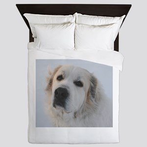 Great Pyrenees Queen Duvet