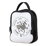 Celtic Wreath Rider Coin Neoprene Lunch Bag