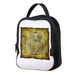 Celtic Letter B Neoprene Lunch Bag