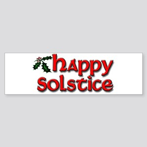 Happy Solstice Sticker (Bumper)