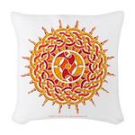 Celtic Sun Woven Throw Pillow