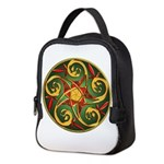 Celtic Pentacle Spiral Neoprene Lunch Bag
