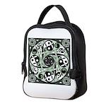 Celtic Spiral Stepping Stone Neoprene Lunch Bag