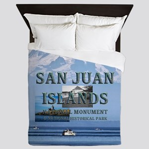 ABH San Juan Islands Queen Duvet