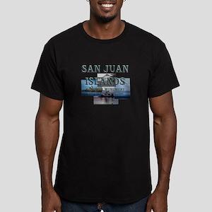ABH San Juan Islands Men's Fitted T-Shirt (dark)