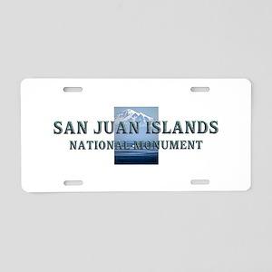 ABH San Juan Islands Aluminum License Plate