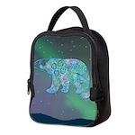 Celtic Polar Bear Neoprene Lunch Bag