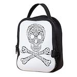 Celtic Skull and Crossbones Neoprene Lunch Bag