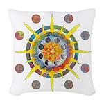Celtic Stargate Woven Throw Pillow