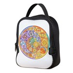 Celtic Crescents Rainbow Neoprene Lunch Bag