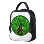 Circle Celtic Tree of Life Neoprene Lunch Bag