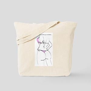 Dental floss.... Tote Bag