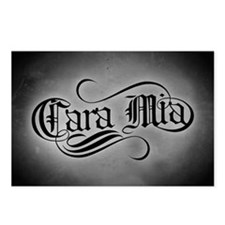 Cara Mia Postcards (Package of 8)