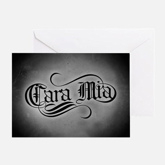 Cara Mia Greeting Card