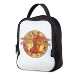 Warm Celtic Dragonfly Neoprene Lunch Bag