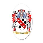 Clark Oval Car Magnet