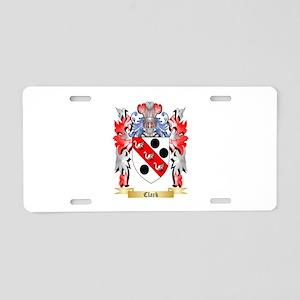 Clark Aluminum License Plate