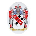 Clark Ornament (Oval)