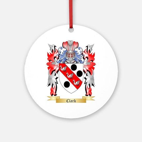 Clark Ornament (Round)