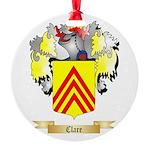 Clare Round Ornament