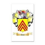 Clare Rectangle Car Magnet