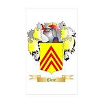 Clare Sticker (Rectangle 50 pk)