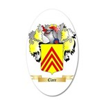 Clare 20x12 Oval Wall Decal