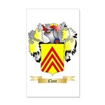 Clare 20x12 Wall Decal