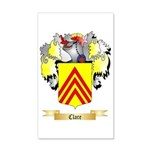 Clare 35x21 Wall Decal
