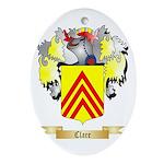 Clare Ornament (Oval)