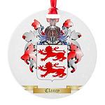 Clancy Round Ornament