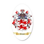 Clancy Oval Car Magnet