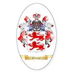 Clancy Sticker (Oval 50 pk)