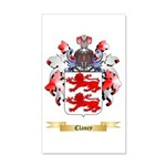 Clancy 20x12 Wall Decal
