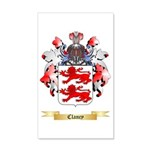 Clancy 35x21 Wall Decal